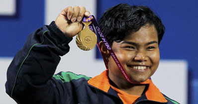 Renu Bala wins first lifting gold