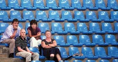 CWG tickets sold out, venues deserted