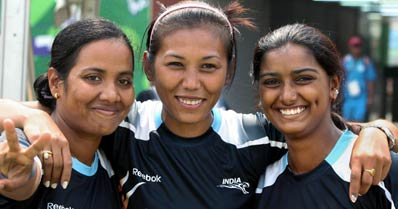 Indian archers win gold in women recurve