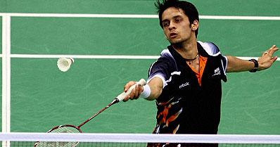 CWG badminton: Kashyap stuns Hasim, enters semifinals