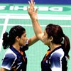 Jwala, Ashwini win women's doubles badminton gold