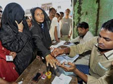 Bihar polls: 54 pc turnout in first phase polling