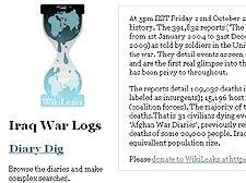 WikiLeaks releases Iraq files