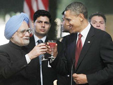 PM Manmohan Singh with US President Barack Obama
