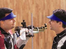 Narang wins silver in air rifle event