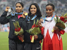 10,000m race: Preeja wins gold