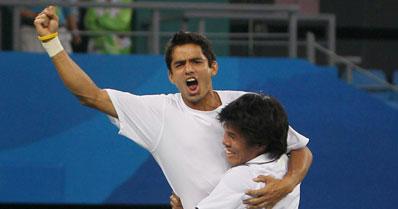 Somdev-Sanam win doubles gold