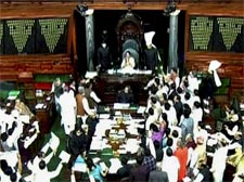 Parliament adjourned over 2G