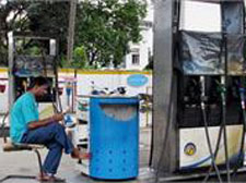 Petrol price hiked by Rs 2.96 per litre