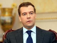 Russian prez arrives in India