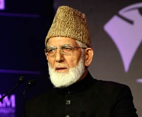 Kashmir dispute about broken promises: Geelani