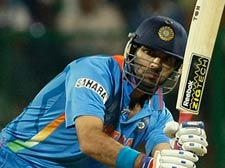 India win by five wickets