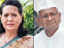 Letter to Anna Hazare: Sonia dons NAC hat to keep pressure off Congress