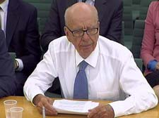 Phone hacking scandal: Murdoch rejects blame at hearing