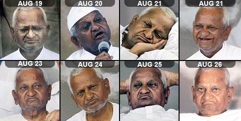 Parliament set to debate Lokpal Bill today as fasting Anna Hazare waits