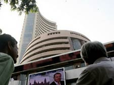Panic selling eases, Sensex arrests fall at 387 pts