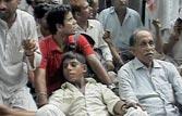 Pro-Hazare stir at Rahul