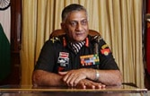 Army chief General V.K. Singh