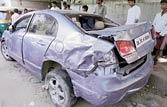 Delhi: Car flies off flyover, teen killed