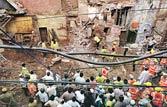Delhi: Cops, MCD in blame game over building collapse