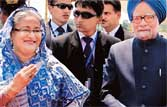 Helping Sheikh Hasina in our interest