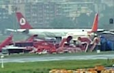 Turkish Airways flight TK-720 at Mumbai airport