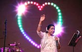Singer Asha Bhosle enters Guinness World Records for most single studio recordings