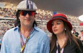 F1: Huge celeb turn out at Indian Grand Prix
