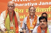 BJP national executive meet eclipsed by Modi's no-show