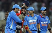 1st ODI: Triumphant start for India