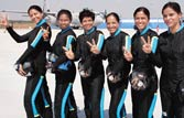 First all-women sky-diving team to debut on IAF day
