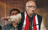 After bomb scare, Advani talks death sentences and corruption