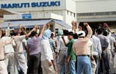 Talks continue as Maruti Manesar plant strike enters 14th day