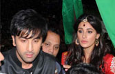 Ranbir does garba with Nargis in Ahmedabad