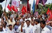 Pro-Telangana protesters