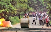 Andhra CM to crack whip on Telangana protesters