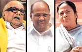 UPA allies hint at ditching Congress in civil elections