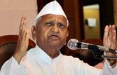 Anna accuses Maharashtra CM of safeguarding Lavasa