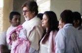Baby looks more like Aishwarya, says Big B