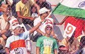 Fans back in large numbers to watch Team India in action