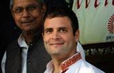 Rahul targets Maya govt, 'elephant' eating away central funds