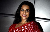 Vidya Balan promotes Dirty Picture in Delhi