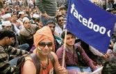 Anna Hazare fans
