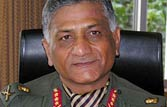 Age row: Defence ministry rejects Army Chief V.K. Singh's plea
