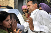 Akali leader who slapped woman arrested, gets bail