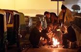 Delhi shivers at below average temperatures