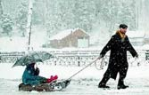 Snowfall cuts off Kashmir Valley from rest of the country