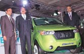 Mahindra unveils new electric car Reva-NXR