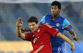 India vs Bayern Munich: Muller's brace in Bayern win