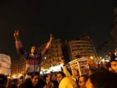 Egyptians fill Tahrir Square on eve of revolution anniversary